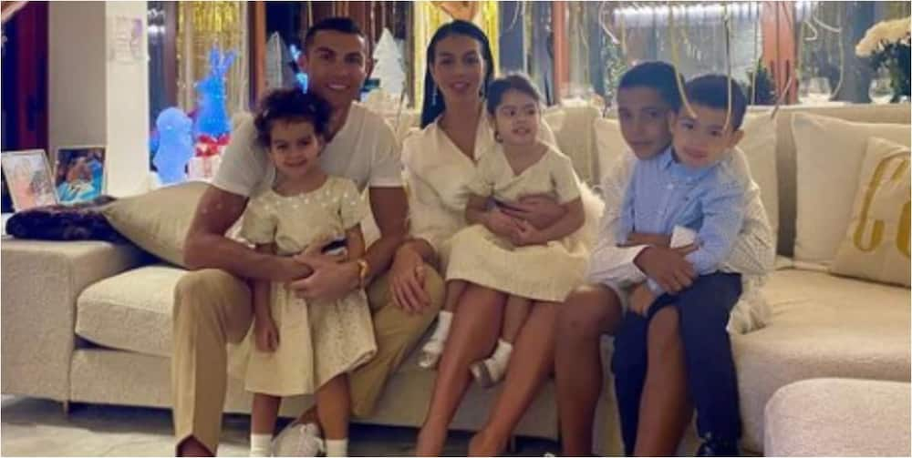 Ronaldo and family forced out of new mansion in Manchester due to animal disturbances