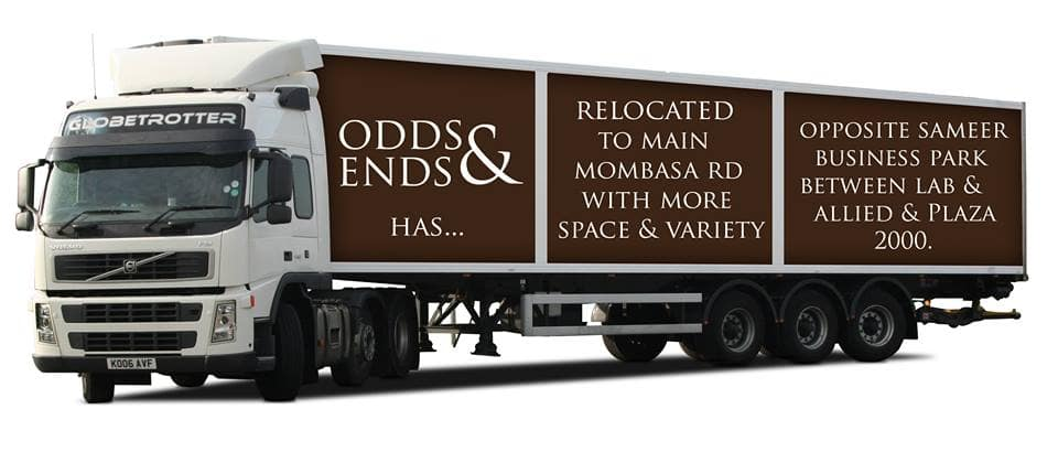 Odds and Ends contacts and branches in Kenya