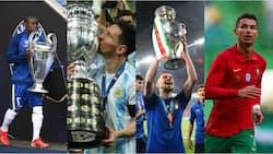Lionel Messi, Cristiano Ronaldo Named As Chelsea Stars Dominate 30-Man Shortlist for Ballon d'Or 2021
