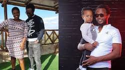 Prof Hamo Lovingly Shares Photo of His Daughter with Jemutai for The First Time