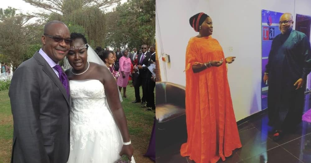 """Emmy Kosgei Humbly Asks 62-Year-Old Hubby for Blessings Before Church Service: """"my Oga"""""""