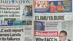 Kenyan newspapers review for February 19: Busia girl, 18, wants arm chopped off to end years of suffering