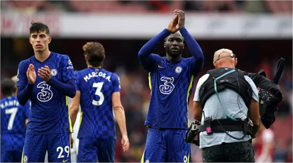 Romelu Lukaku is expected to lead the attack when Chelsea take on Tottenham. Photo: Nick Potts.