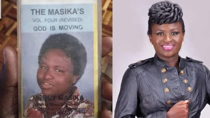 Mercy Masika Amuses Fans With Throwback Photo of Younger Self on Vintage Cassette
