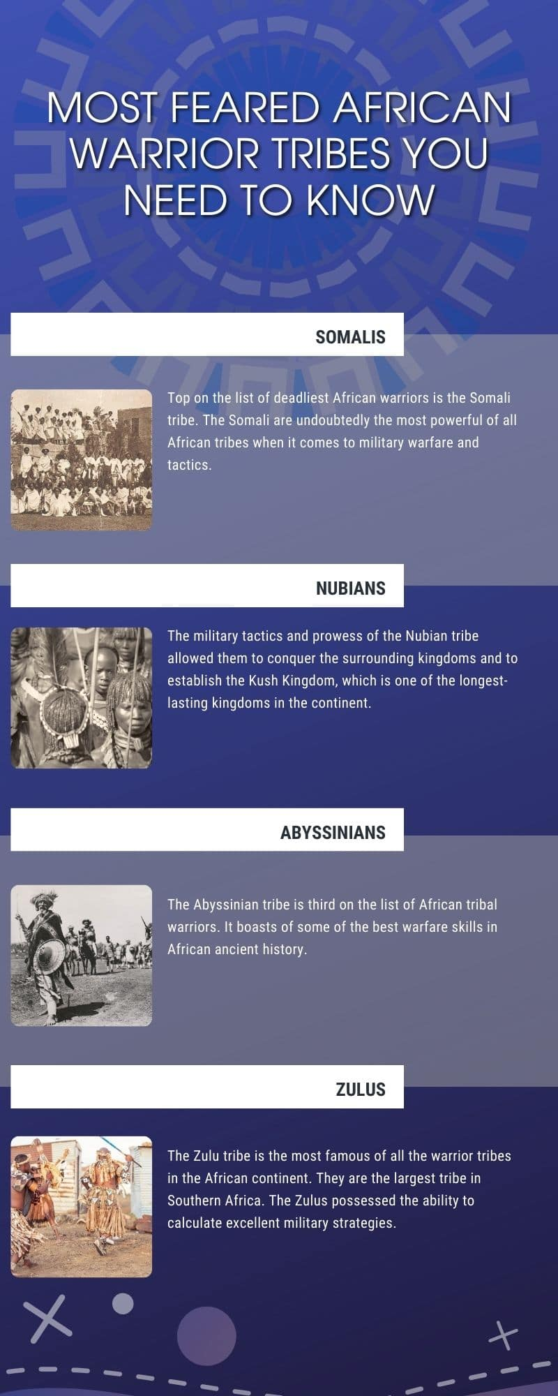 most feared African warrior tribes