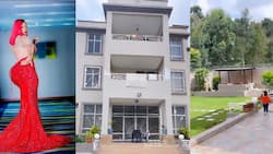 Risper Faith Shows Off Completed Mega-Mansion She Started Building 3 Years Ago