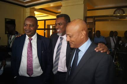 Twalib Mbarak's first role is to clean out EACC