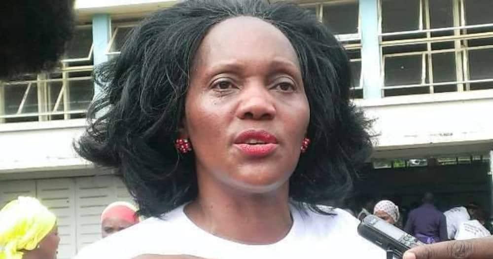 Kisumu woman representative Rosa Buyu. Photo Rosa Buyu.