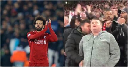 Heartwarming! Liverpool fan describes Mo Salah's goal to a blind supporter