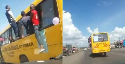 School bus in rogue KCPE celebrations impounded by NTSA