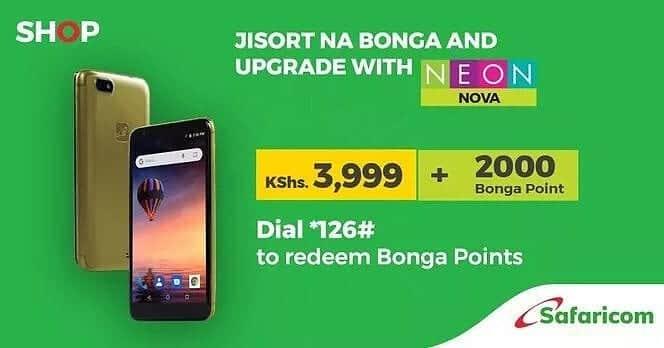Safaricom Bonga points phones