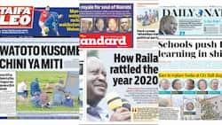 Magazeti ya Jumanne, Disemba 29: DP Ruto abanwa kwenye uchaguzi mdogo Nairobi