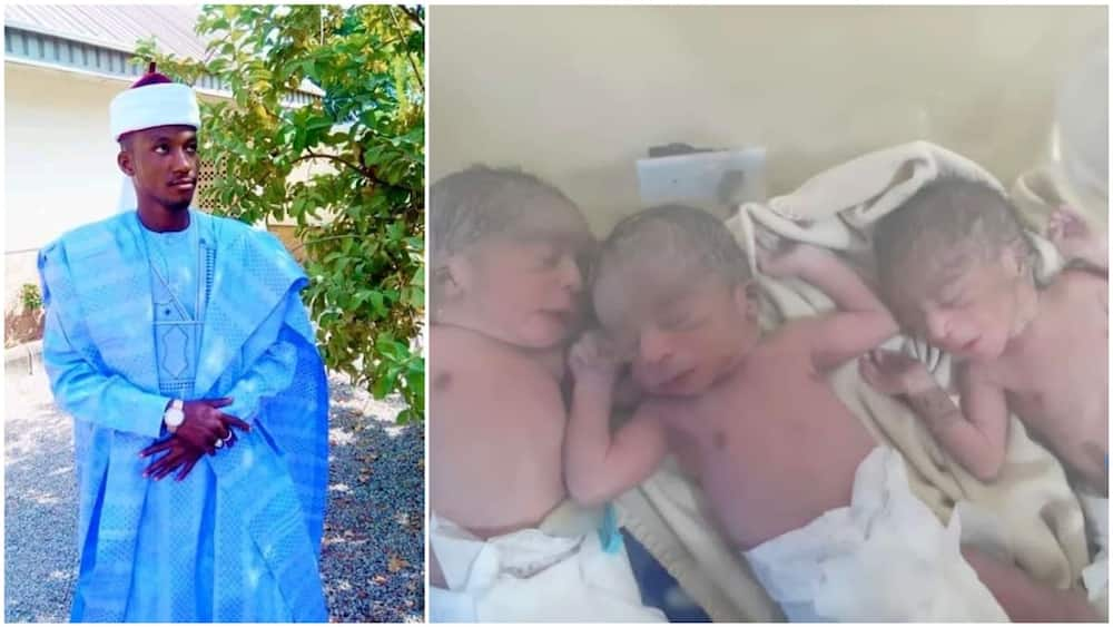 Woman gives birth to triplets after husband was kidnapped by gunmen in Kaduna