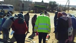 South Africans Come Together to Pray and Clean Up Their Township, Photos Inspire Netizens