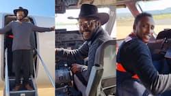 """Papa Shirandula's Njoro Shares Flight Experience with Fans from Inside Cockpit: """"I Love My Life"""""""