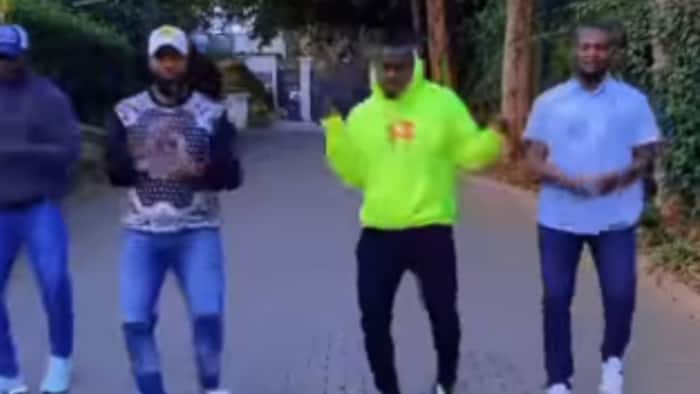 Governor Joho Dazzles Fans with Flawless Moves Dancing to Nameless, Wahu's Challenge
