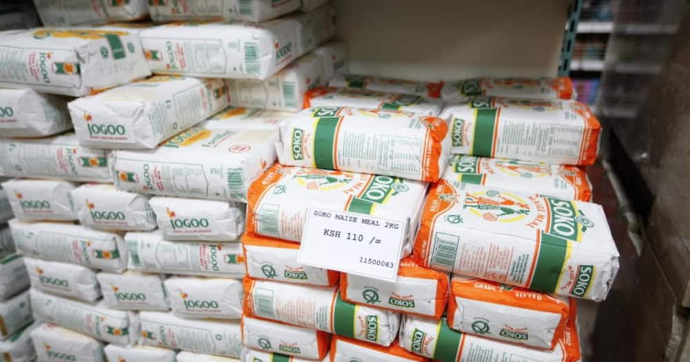 A 90-kilogramme bag of maize at the moment is retaining at KSh 2,800. Photo: Soko Analyst.