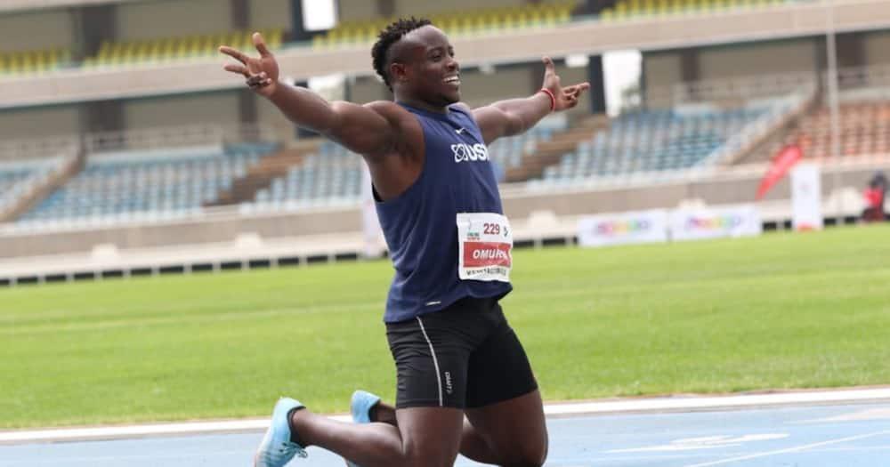 Kenya's Ferdinand Omanyala Breaks Men's 100m National Record to Qualify for Tokyo Olympics