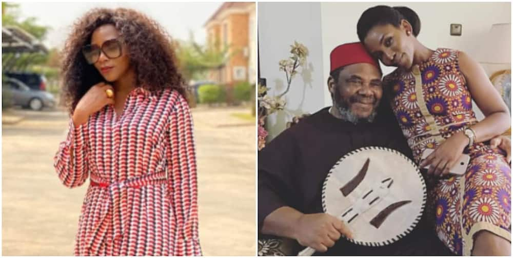 Pete Edochie at 74: Genevieve Nnaji celebrates him with sweet note, shares hilarious video