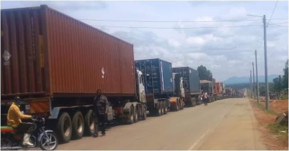 Bungoma: Lori mbili zawaka moto katika barabara ya Webuye - Malaba