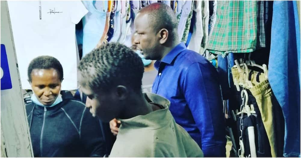 Nairobi man offers to educate street boy who stopped him to beg for money
