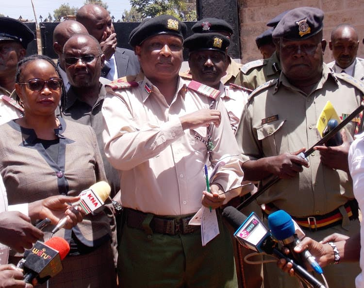 Embu county commissioner advises men to dress wives in school uniform, stop eyeing minors
