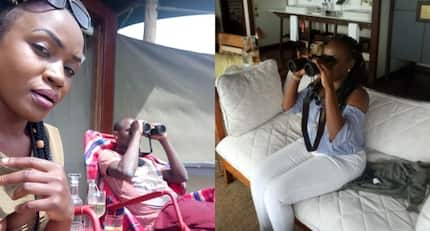 Ex-Harambee Stars striker Dennis Oliech splashes KSh160k per night at Masaai Mara with new woman