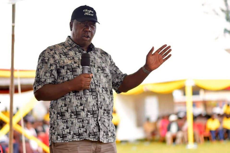 Heshimu Matiang'i: Kundi la vijana kutoka Nyamira laandamana dhidi ya DP Ruto