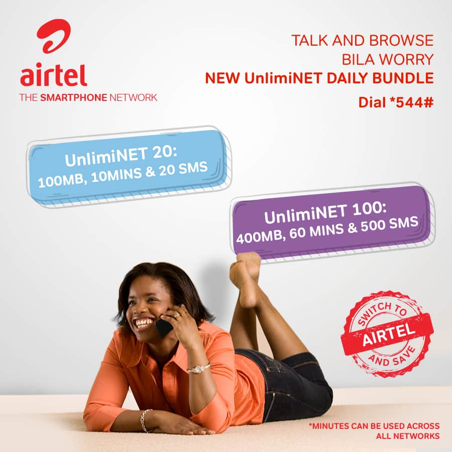 Airtel call offers