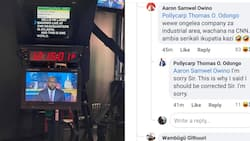 """Netizens Tell Off Man Claiming Larry Madowo is Exposing Sensitive Details About CNN in Pictures: """"Ongelea Industrial Area"""""""