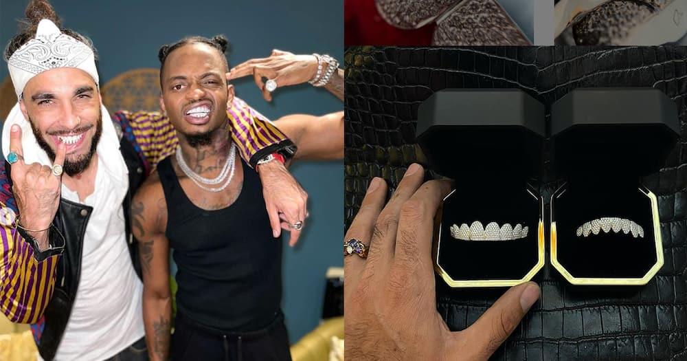 Diamond Platnumz Excited After Spending Over KSh 0.5 Million on Gold Teeth