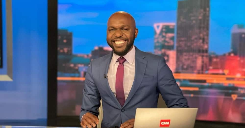 Larry Madowo has returned to CNN after a week in Kenya.