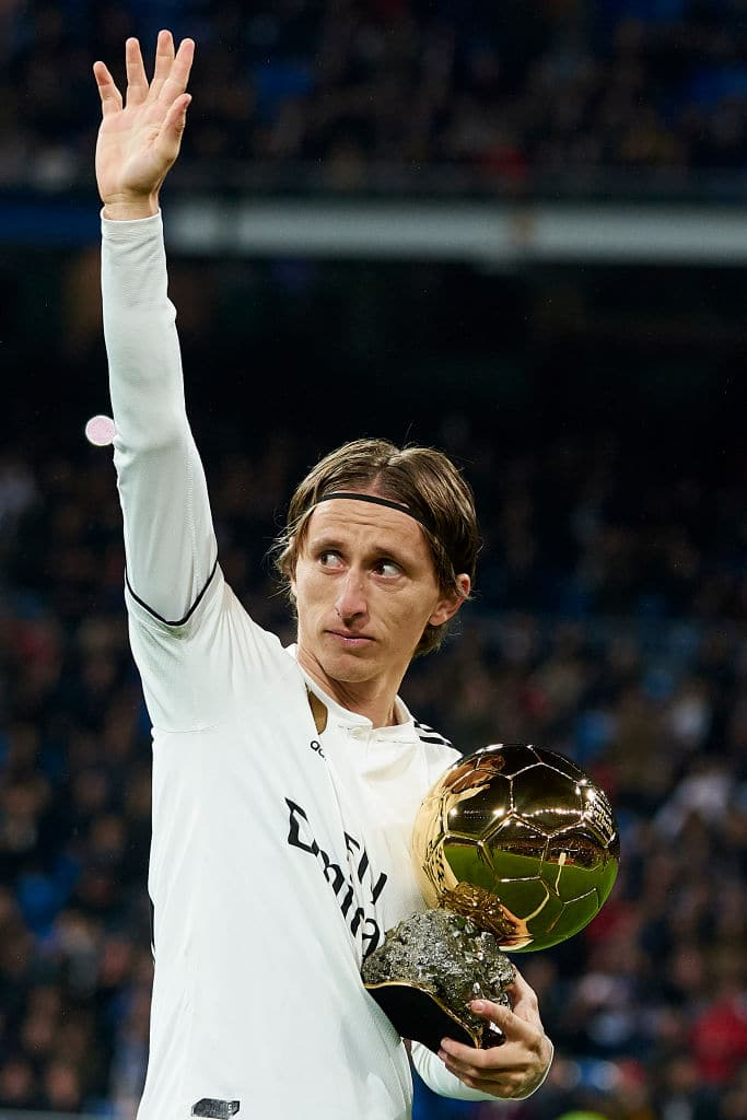 Luka Modric wins Balkan Athlete of the Year ahead of Novak Djokovic