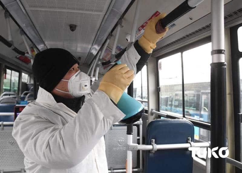 Chinese who traveled to Nakuru one week ago quarantines himself