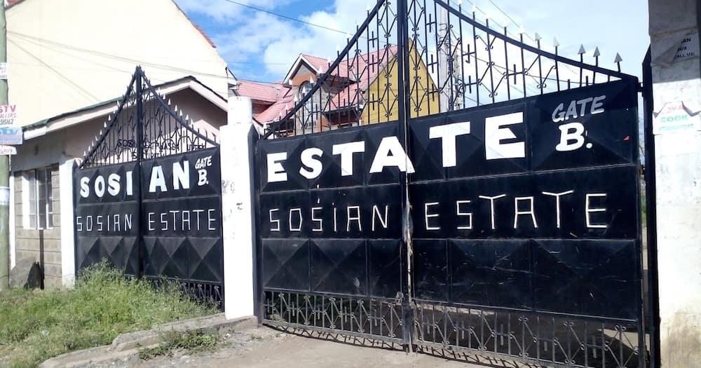 Sosian Estates are located in Nairobi's Eastlands area towards Kayole.