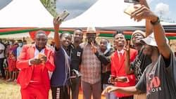 "Raila Odinga Embraces Sheng During Naivasha Meet the Youth Tour: ""Vijana Wanasema Rada ni Rao"""