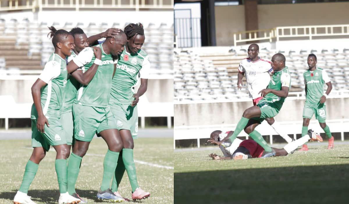 Gor Mahia striker Dennis Oliech scores winner in full debut for champions