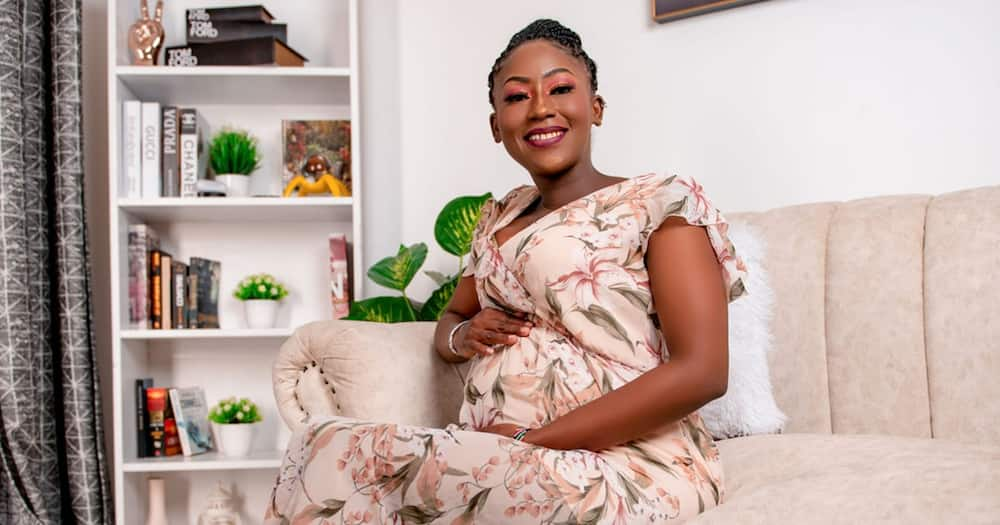 Churchill Show comedienne Mwende said she was expecting a baby girl.