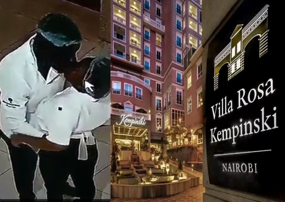 Mkahawa wa Kempinski watoa taarifa kuhusu video ya wafanyikazi walionaswa wakila tunda kazini
