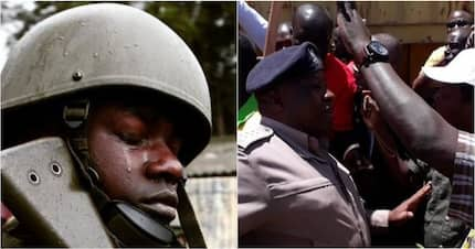 Nairobi police officers sustain human bite injuries after assault suspects attack them