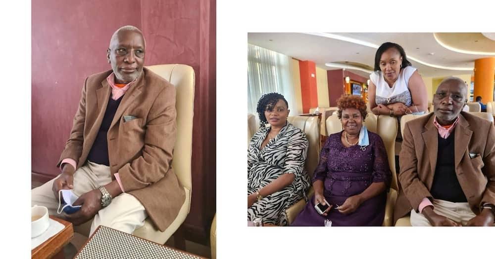 Kikuyu Gospel singer Loise said his dad wasn't talking, walking or eating normally.