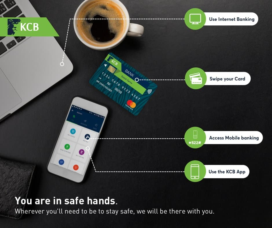 unblock kcb mobile banking
