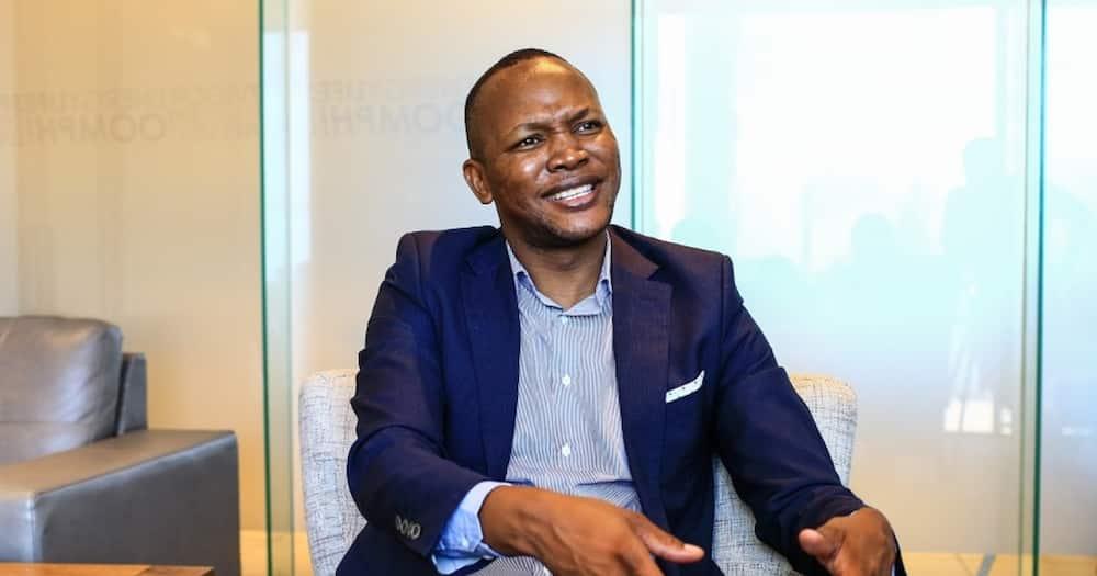 """The """"Please call me"""" inventor Nkosana Makate. Photo: Nkosana Makate."""