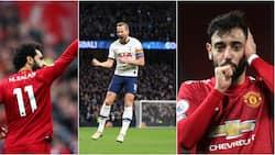 Top 10 EPL goalscorers as Salah, Bruno lead Golden Boot race