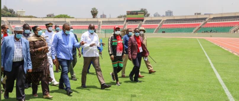 Uwanja wa Nyayo wafunguliwa rasmi baada ya ukarabati