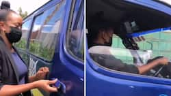 Janet Mbugua Excites Fans with Video of Herself Driving Matatu Like Pro
