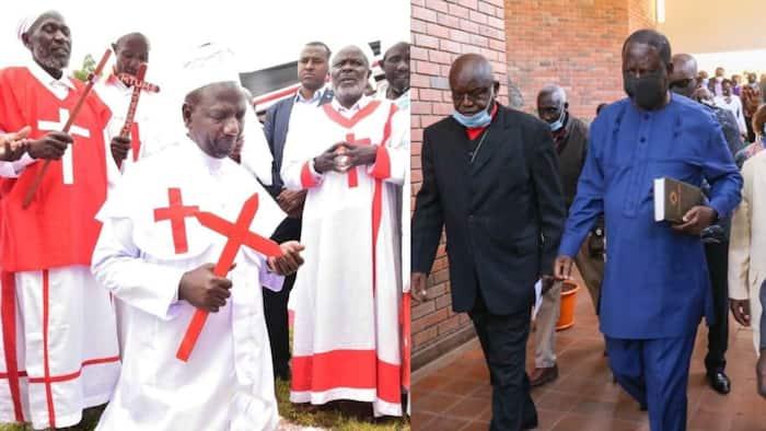 """William Ruto Says He's Discipled Many Politicians to Go to Church: """"Nimewahubiria"""""""