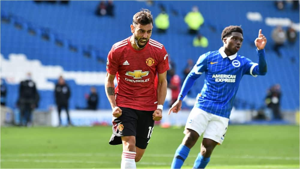 Manchester United snatch late win vs Brighton after being awarded last minute penalty by VAR
