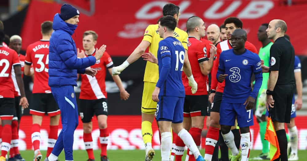 Arsene Wenger names 3 Chelsea players to blames for Blues' draw vs Southampton