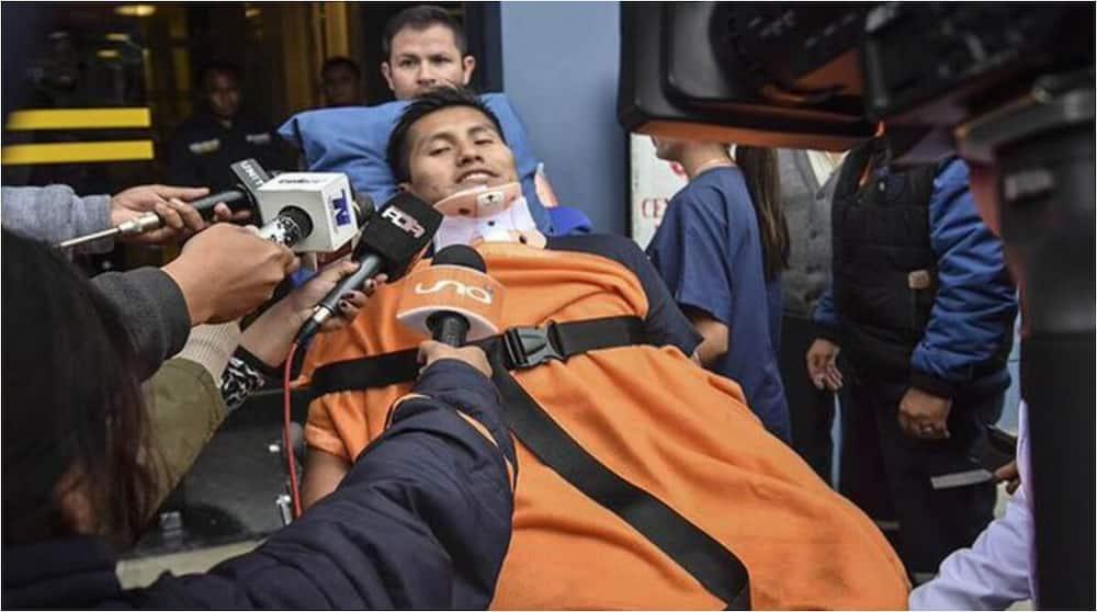 Scare as Chapecoense plane crash survivor cheats death again in vehicle crash that killed 21
